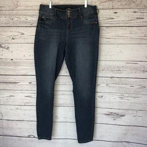 Torrid Denim Skinny Jeans Size 14T